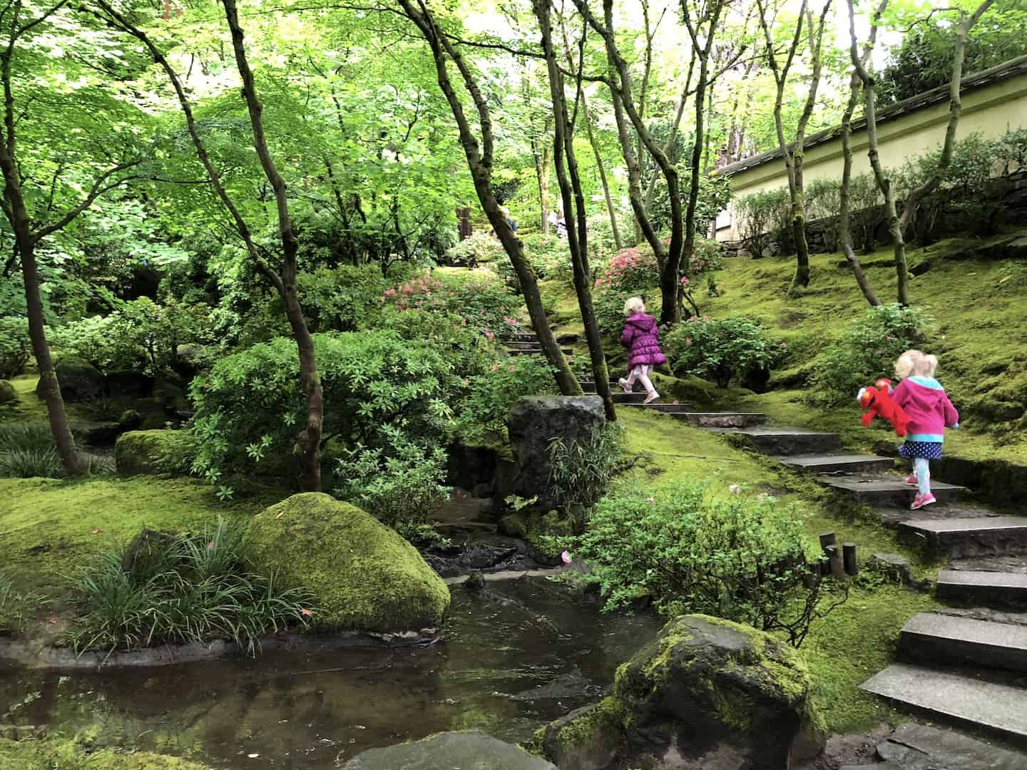 Find Your Zen At The Portland Japanese Garden With Kids To Fro Fam