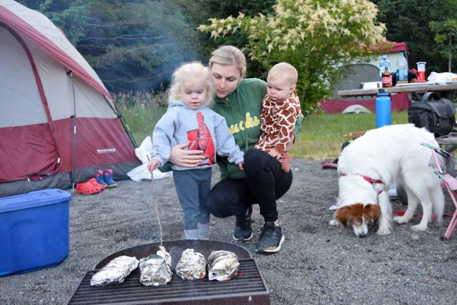 35 fun family camping hacks, activities + games to save ...